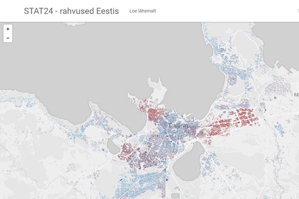 Kliki pildil, et näha interaktiivset rahvuste kaarti.