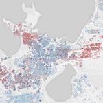 See kaart näitab rahvuste paiknemist Eesti eri paigus